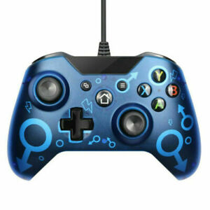 Wired Controller for XBOX One Brook PC Game Joystick Dual-Vibration Gamepad