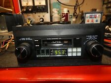 Alpine 7163 Cassette player with 6210 2 Way Speakers