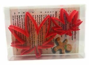 Weed Leaf Cookie Cutter set of 2, Biscuit, Pastry, Fondant Cutter