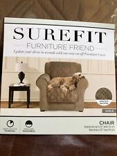 "NIP Sable Microfiber Furniture/Pet Cover Protect Furniture fits Chair to 24""wide"