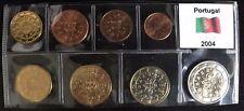 EURO FDC PORTUGAL 2004 SET 8 MONETE PORTOGALLO