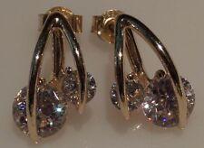 Orecchini di lusso con gemme pendente zircone
