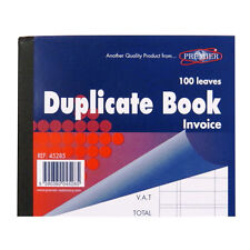 Mini Invoice Duplicate Book - 1 to 100 Pages, Ruled - Size 127 x 103mm, Premier