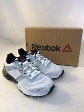 Reebok One Cushion 3.0 Nite White & Grey Reflective Trainers New Boxed (FN_801)