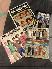 New listing One Direction Book Lot Of 4. Sticker Book Has 30 Out Of 200 Stickers Filled.