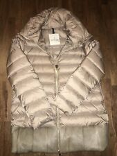 Moncler Women's Puffer With Lamb Fur