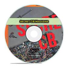 Secret CB Magazine, The CB Radio Bible, 29 Magazines Library PDF CD DVD H01
