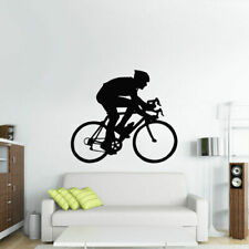 Wall Vinyl Sticker Bedroom Decal Bike Sport Bicycle Cycle (Z2762)