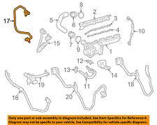 Mercedes MERCEDES-BENZ OEM CLS550 Turbocharger Turbo-Cooler Line 2782001851