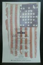 "The Civil War Theater Broadway Window Card Poster 14"" x 22"""