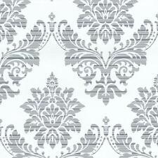 P&S International Catherine Lansfield Damask Wallpaper Metallic Motif 13373-24