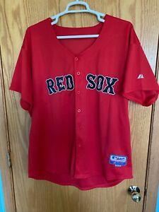 MLB Boston Red Sox David Ortiz (Big Papi) Jersey. Stitched. Size: 54.