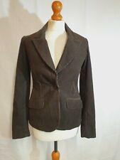 TOAST Jacket 8 Brown Grey Cord Blazer