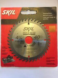 "SKIL75540 4-3/8"" x 40 Teeth Carbide Flooring Blade"
