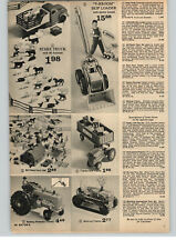 1964 Paper Ad Toy V-rroom Skip Loader Battery Operated Tractor Wind Up Tractor