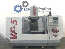 HAAS VF- 5 VERTICAL MACHINING CENTER VMC 20HP 4 AXIS READY 20 TOOLS  - VF5 6
