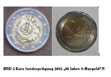 2_EUR_Gedenkmünze 2012 A o. D o. F o.J Prägung 2002-2012 €_10 Jahre_Euro-Bargeld