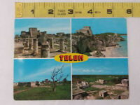 Vintage Postcard ~ Tulum. Souvenir. MEXICO ~ Ships FREE