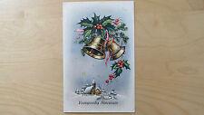 Postcard Prettige Kerstdagen en voorspoedig Nieuwjaar Zeist 1960 Marken Kerst
