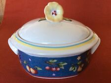 Villeroy & Boch Group - Citta & Campagna BIELLA ~ Covered Serving Bowl with Lid,