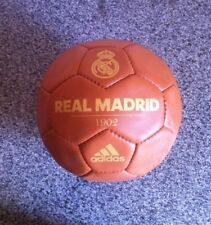Adidas Real Madrid 1902 Historic Football Ball Size 5-Leather -soccerball
