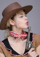 Adult Brown Cowgirl Hat