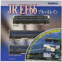 Tomix 92332 JR EF66 Blue Train Asakaze 3 Cars Set - N