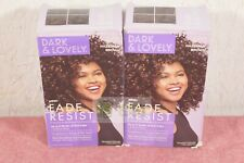 Dark and Lovely Fade Resist Permanent Hair Color, Hazelnut Brown, Qty of 2