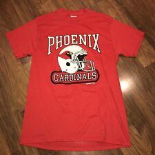 Vtg 80s 90s Red PHOENIX CARDINALS Soft Mens LARGE t-shirt Arizona Football  tee M a352ffde6