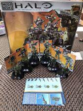 Halo Mega Bloks 96970 Edizione Anniversario 10 ANNI confezione UNSC truppa con visualizza
