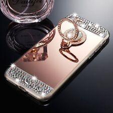 iPhone 7 Plus Mirror Case Luxury Crystal Bumper Diamond Rose Gold