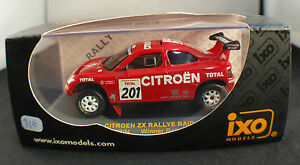 IXO ◊ Citroën Zx Rally Raid Granada Dakar 1996 ◊ 1/43 ◊ IN Box / Boxed ◊ Rare