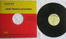 Singer Education Division Sound Filmstrip Rumplestiltskin LP  A107-3RR VG+