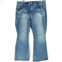 Lane Bryant Womens Size 26 Jeans High Rise Boot Tighter Tummy Inseam 31