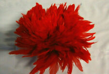 Bright Red Strung Rooster Schlappen 4-6