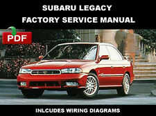 SUBARU LEGACY 1995 - 1999 ULTIMATE FACTORY WORKSHOP SERVICE REPAIR FSM MANUAL
