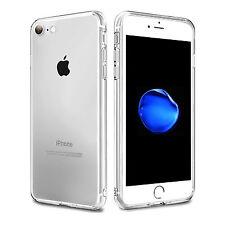 "Funda Carcasa Gel Silicona Transparente con Antipolvo para iPhone 7 PLUS 5,5"""