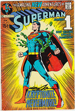 Superman #233 (Jan 1971, DC) SIGNED by NEAL ADAMS FREE SHIPPING
