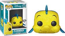 NEW! Funko Pop! Vinyl Disney The Little Mermaid Flounder Diamond Glitter Special