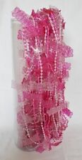 Cortinas de color principal rosa para niños