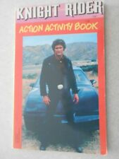 "Knight Rider Action Activity Book  1984  unused 5"" x 8"""