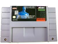 RISE OF THE ROBOTS Super Nintendo SNES Game - Tested - Working Authentic!