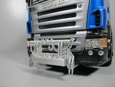 Aluminum Chain Animal Bumper Guard for Tamiya 1/14 Scania R620 R470 Semi Truck