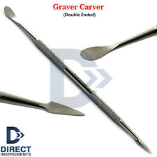 Dental Graver Carver Wax Carving Modelling Spatula Laboratory Waxing Instrument
