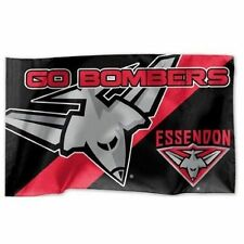 Official AFL Essendon Bombers Game Day Large Flag (NO STICK/FLAG POLE)