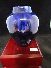 """Vintage Ceramic Pottery Art- West German Blue Vase ~ 4.0"""""""