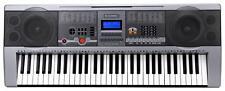 PIANO NUMERIQUE E-PIANO CLAVIER 61 TOUCHES 100 SONS ET RHYTHMS USB MP3 PUPITRE