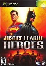 Justice League Heroes (Microsoft Xbox, 2006)DISC ONLY