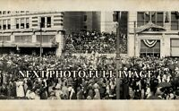 "Early 1900's Mardi Gras New Orleans LA Vintage Panoramic Photograph 43"" Long"