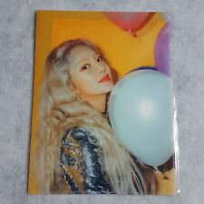 Girls' Generation Holiday to Remember 10th Anniversary Hyoeon File Folder+Photo